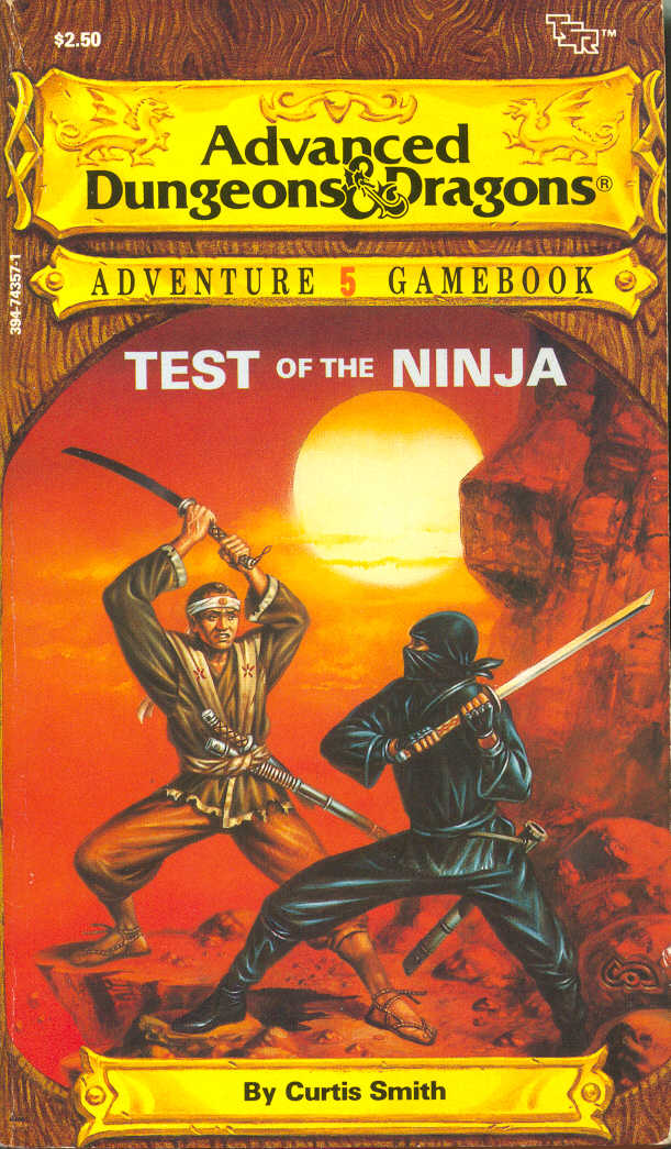 Item - Test of the Ninja - Demian's Gamebook Web Page