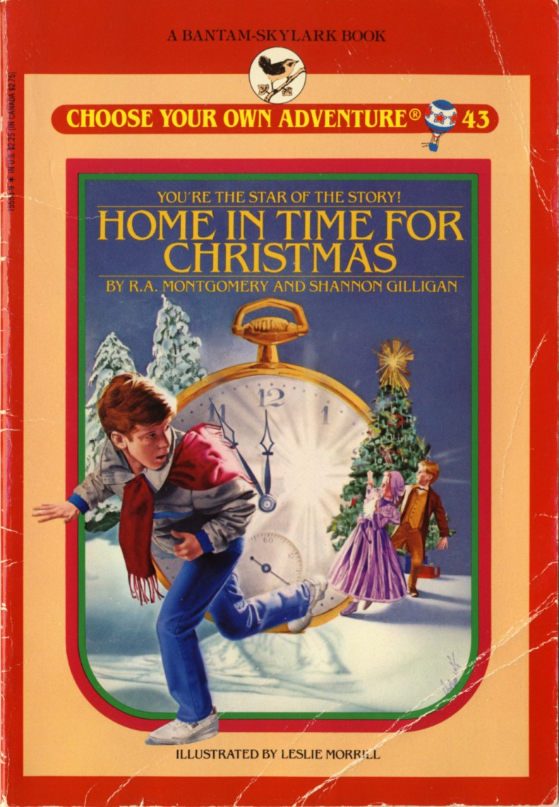 Item home in time for christmas demian 39 s gamebook web page for Choose your own home