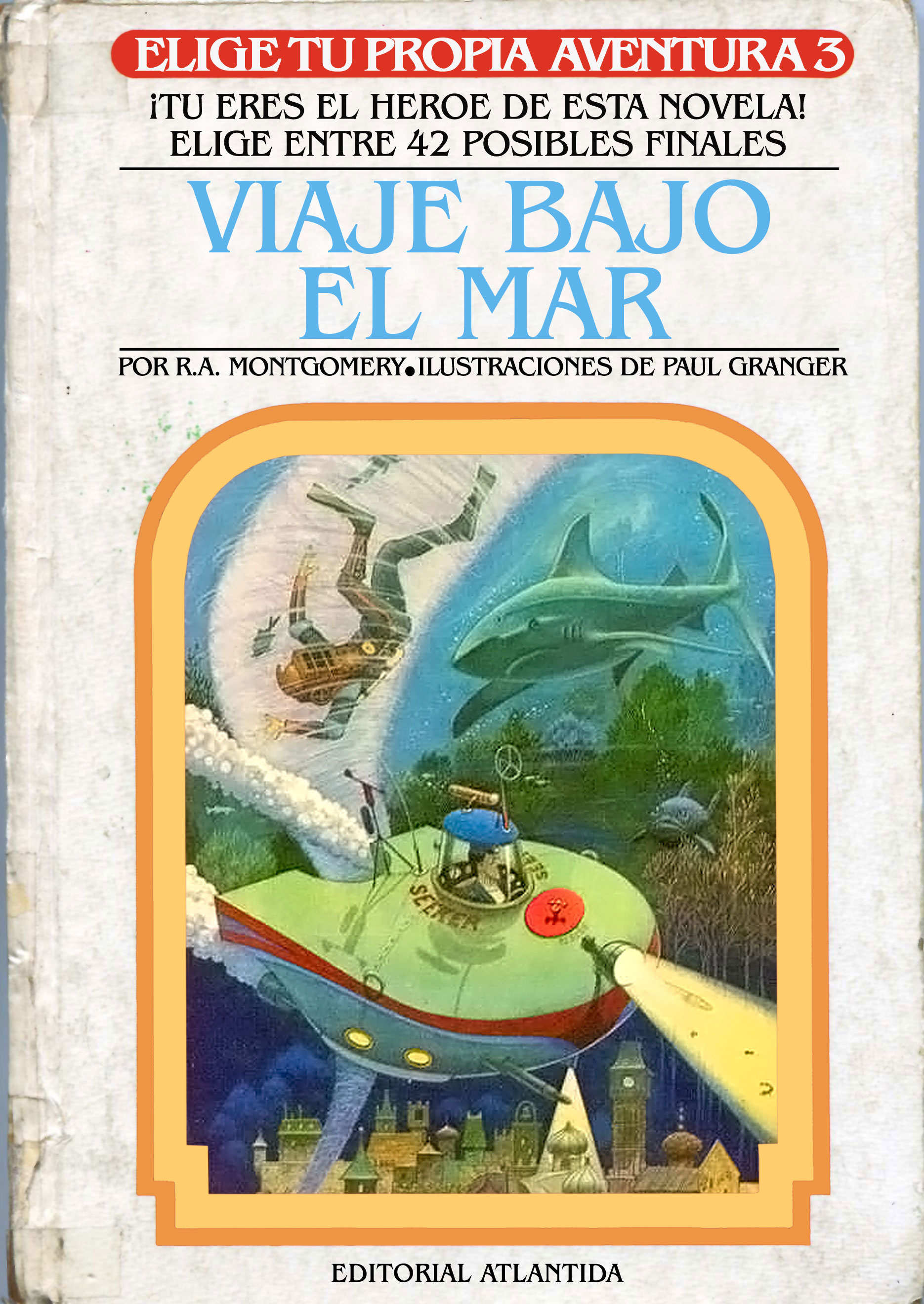 Elige tu propia aventura (1983-1998, Argentina) edition
