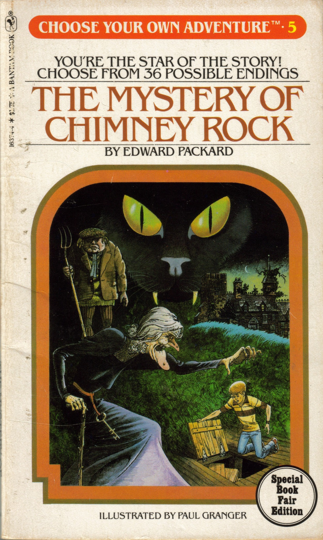 Item The Mystery Of Chimney Rock Demian S Gamebook Web