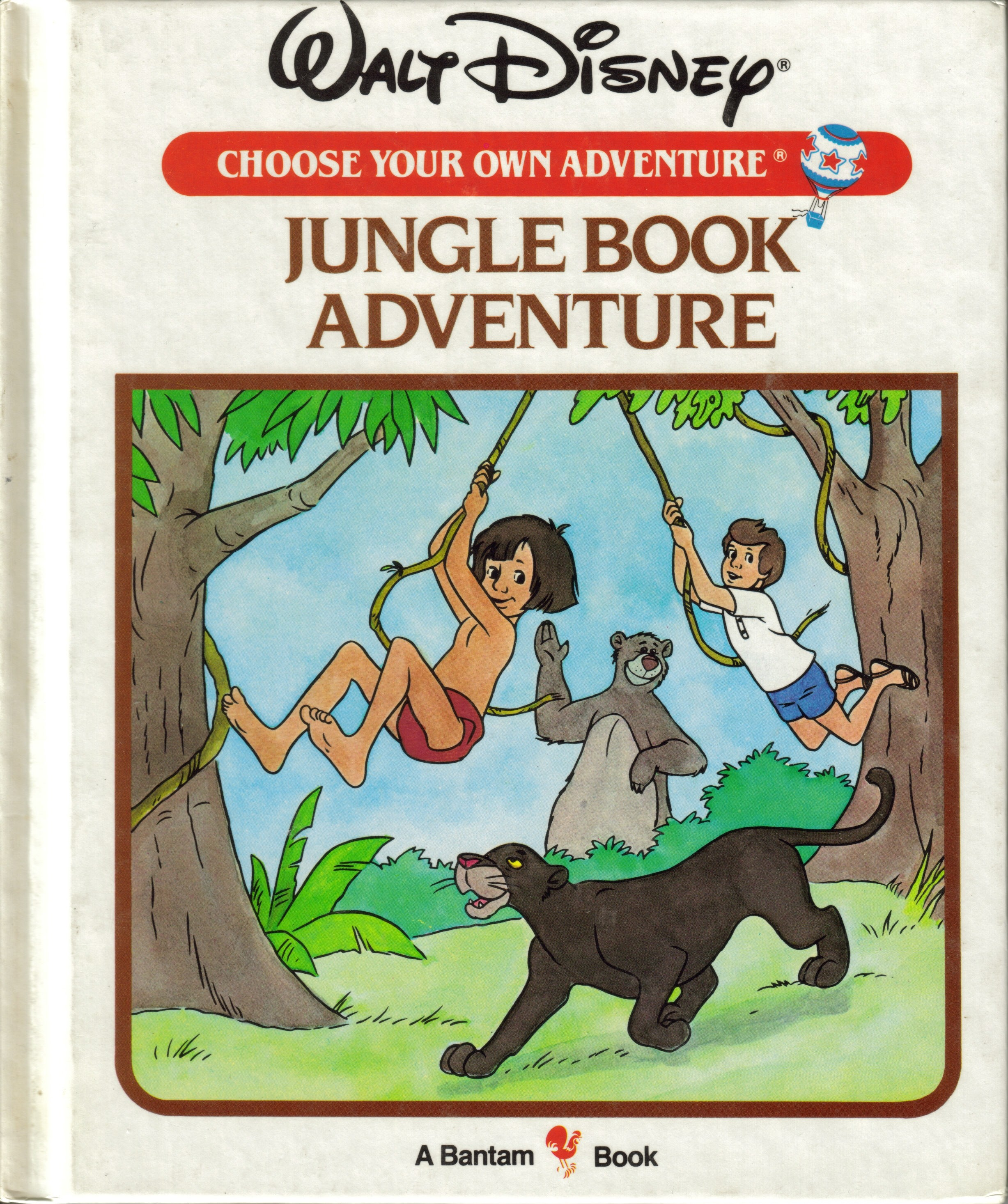 Item - Jungle Book Adventure - Demian's Gamebook Web Page