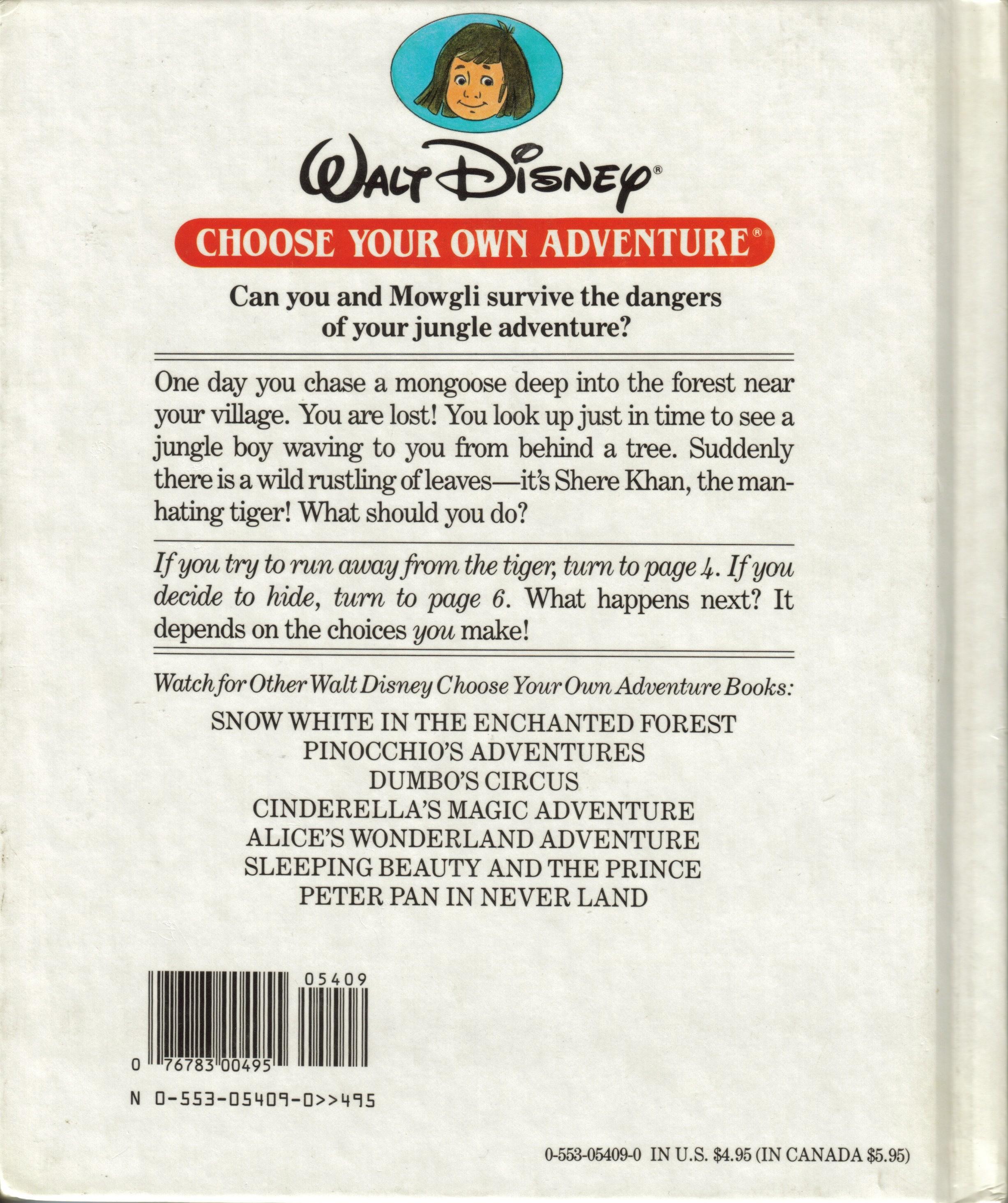item jungle book adventure demians gamebook web page