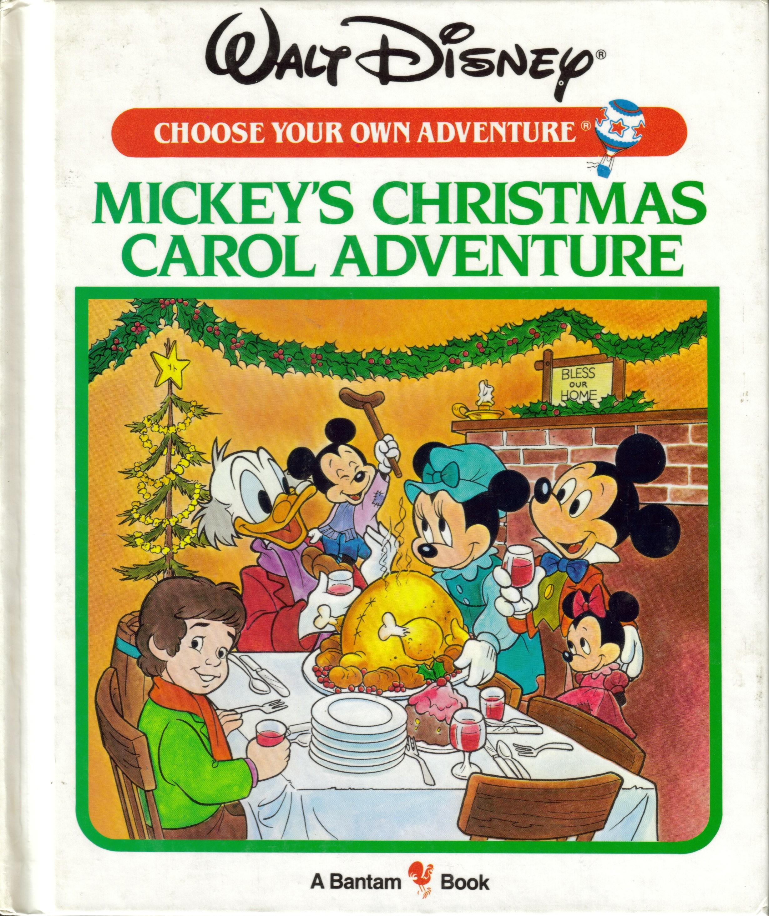 Mickeys Christmas Carol Book.Item Mickey S Christmas Carol Adventure Demian S