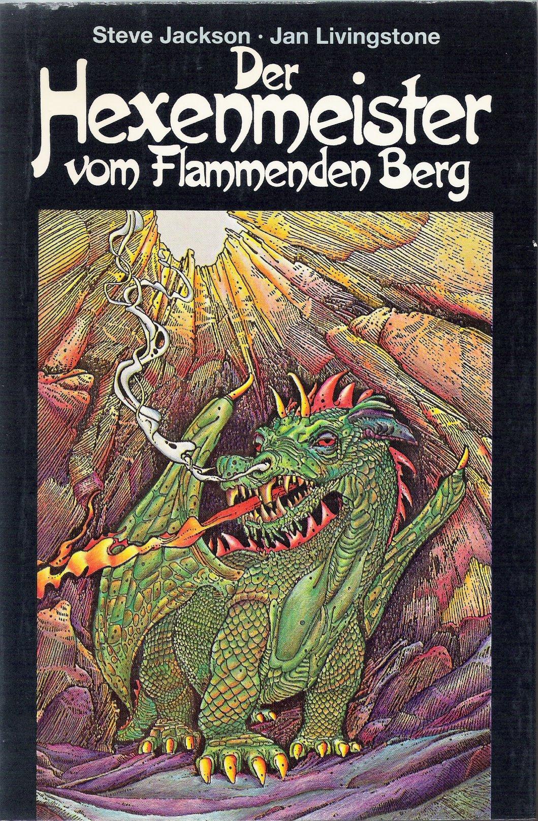 Der Hexenmeister Vom Flammenden Berg