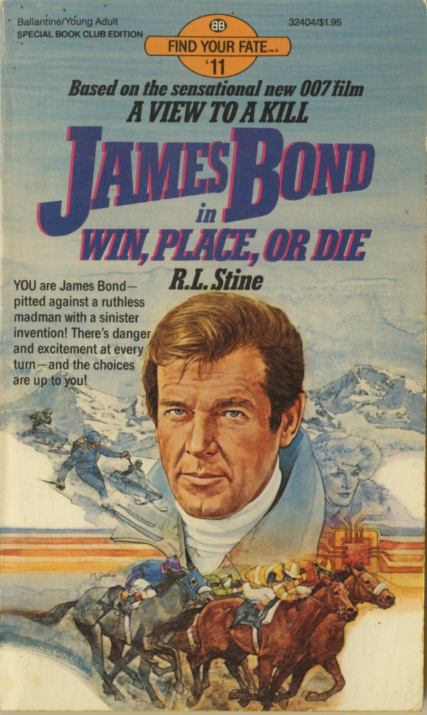 Image result for james bond in win, place, or die [book]