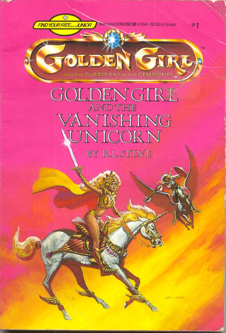 Item - Golden Girl and the Vanishing Unicorn - Demian's Gamebook Web Page