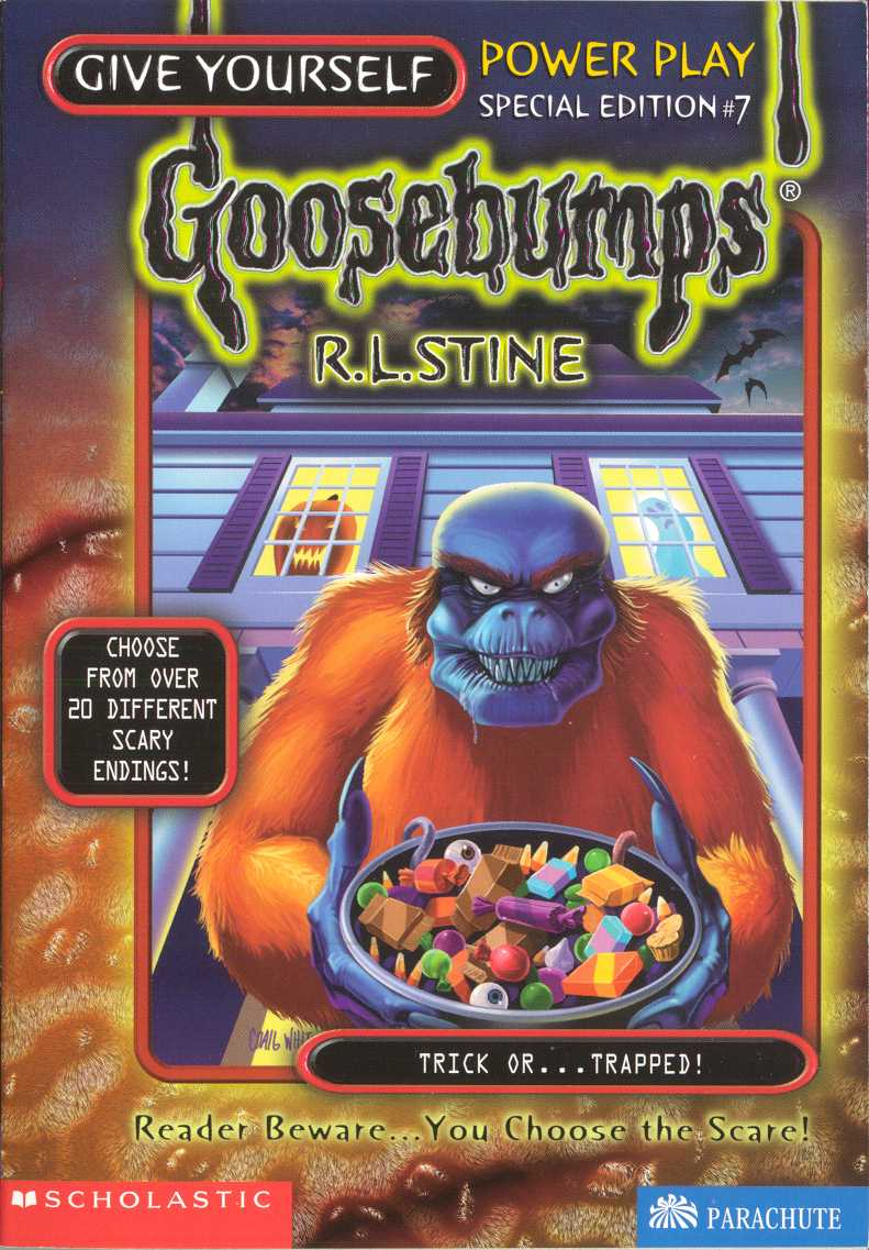 GOOSEBUMPS #27 A NIGHT IN TERROR TOWER BY R.L.STINE
