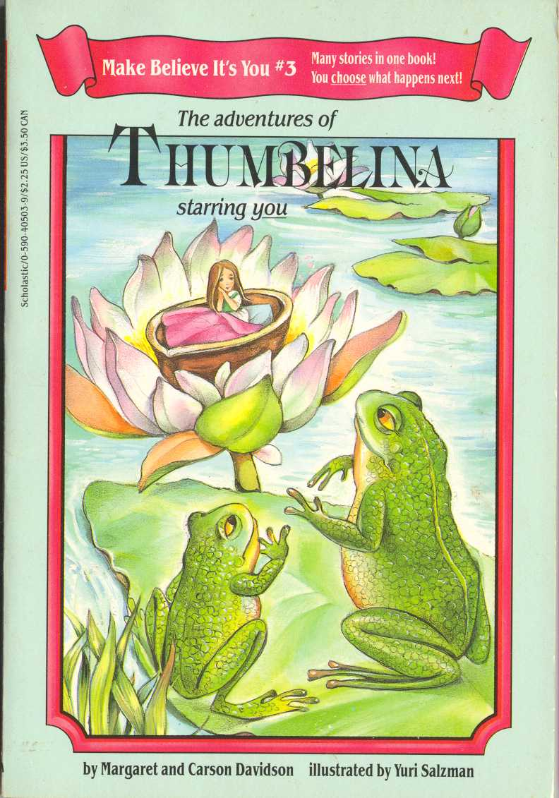 Book report of thumbelina