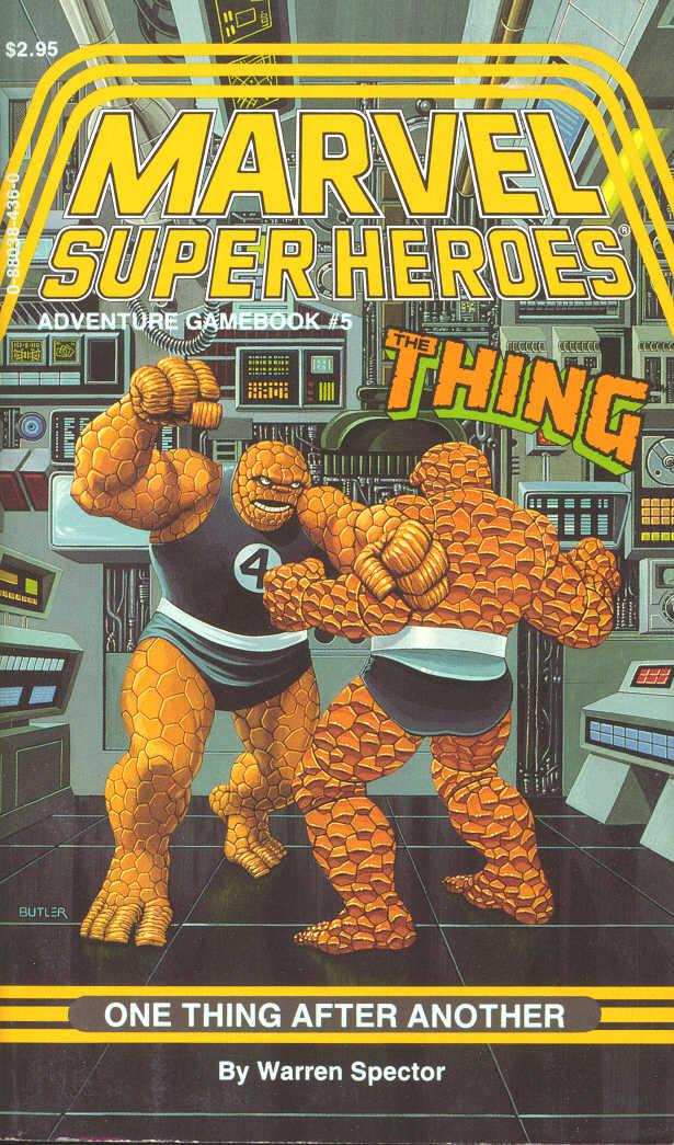 Errata de la série SUPER HEROS MARVEL Msh5
