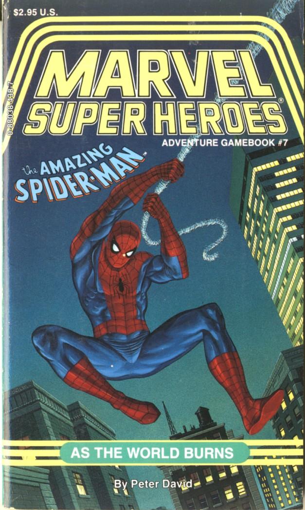 Errata de la série SUPER HEROS MARVEL Msh7
