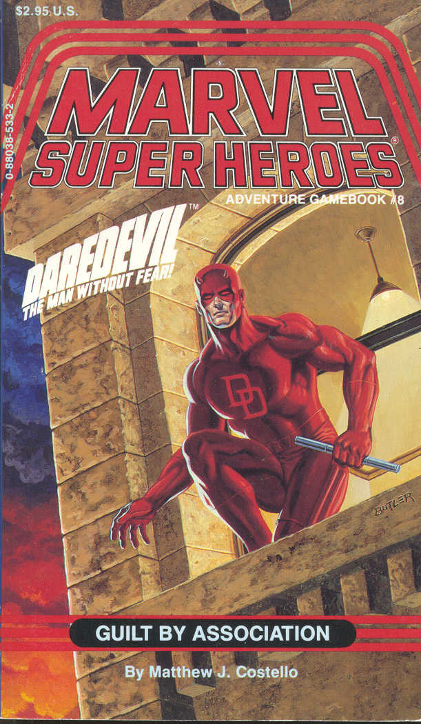Errata de la série SUPER HEROS MARVEL Msh8