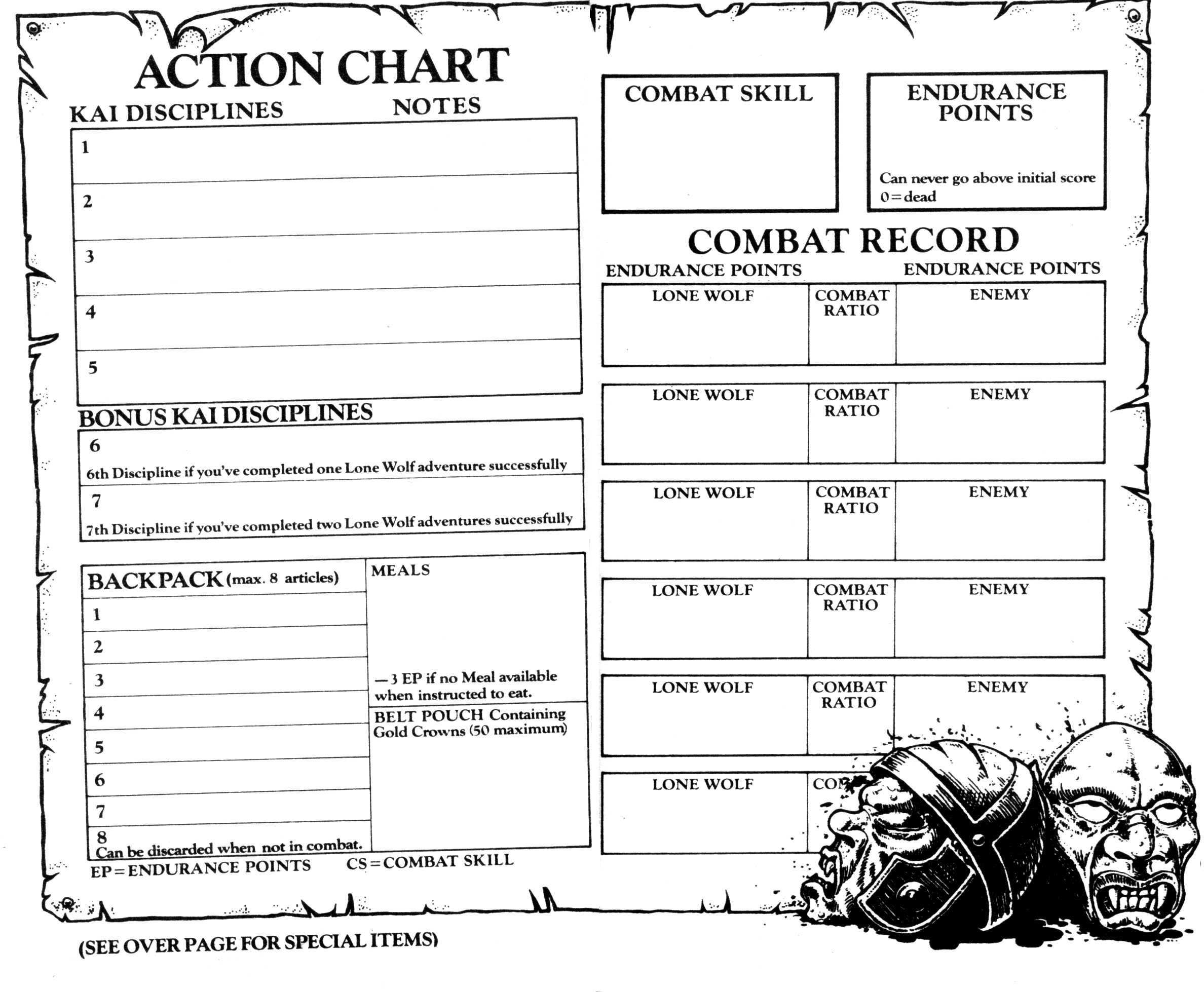 Series - Lone Wolf - Demian's Gamebook Web Page