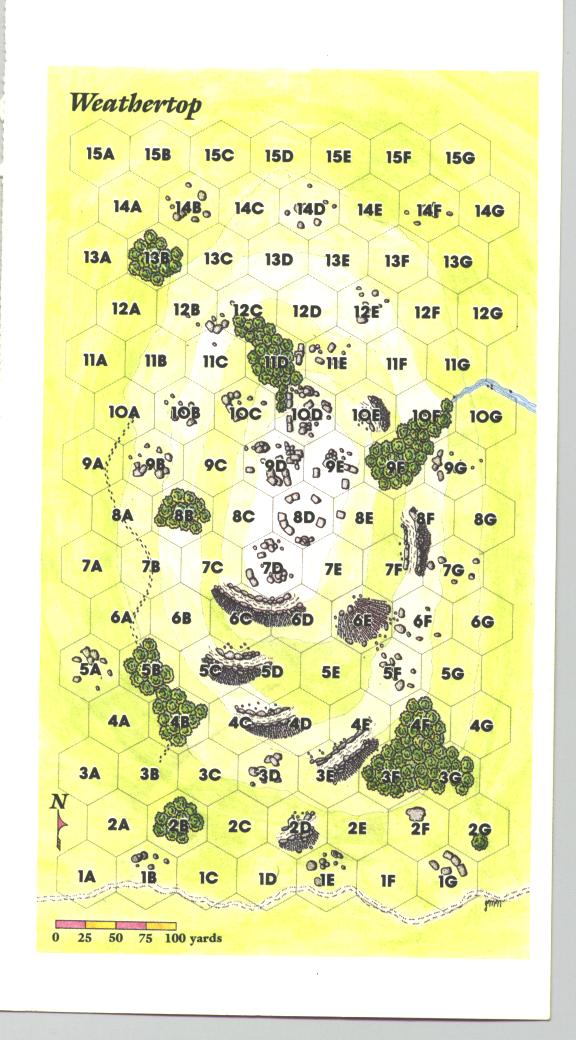 middle earth quest the legend of weathertop map card side 2